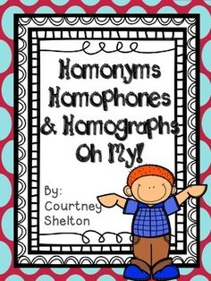 Worksheets Beasley And Homophones pause interrupt action or speech briefly paws this a print and go center focusing on homonyms homophones homographs