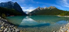CANADA - Alberta - Banff National Park, lac Louise Banff National Park, National Parks, Lac Louise, Panorama, Nature Animals, Canada, Fantasy, River, Mountains
