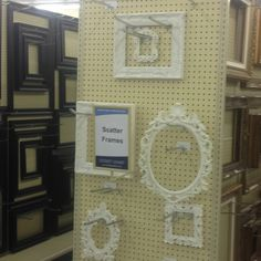 hobby lobby scatter frames for spare bedroom