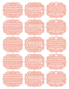 Relief Society cupcake toppers
