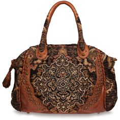 Isabella Fiore Satchel Handbag in Embroidered Tapestry,  Fiore makes the most beautiful tapestry bags...