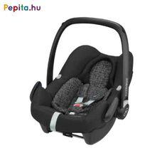 Az új Maxi-Cosi Rock gyerekülés kitűnő védelmet biztosít autózás közben az újszülött számára, mivel a legújabb gyerekülésekre vonatkozó előírás, az ECE R129 (i-Size) alapján készült. A hordozó az autó 3-pontos biztonsági övével is rögzíthető az autóban, de ha az autó isofix-szel felszerelt, mindenképp javasolt a 2WayFix vagy 3WayFix talppal használni.    Jellemzői:  - Autóba a 2WayFix vagy 3WayFix isofix-talppal szerelhető be  - Az autó 3 pontos biztonsági övével is rögzíthető  - Új… Rock, Baby Car Seats, Grid, Products, Innovative Products, Meet, Bebe, Pram Sets, Vehicles