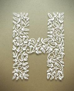 Botanical Alphabet, Image courtesy of Seth Mach.