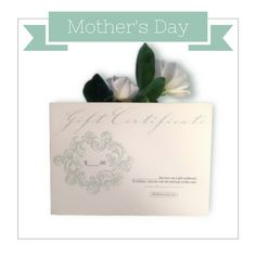 Give something she will REALLY enjoy! #MothersDay #GiftCertificate #FreshSkincare #EcoLuxe #OrganicSkincare