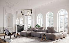 AlexAllen Lighting + Furniture   Classical Apartment
