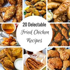20 Delectable Fried Chicken Recipes (Dinner at the Zoo) Recipe For Kentucky Fried Chicken, Best Fried Chicken Recipe, Spicy Fried Chicken, Cooked Chicken Recipes, Cooking Recipes, Chicken Meals, Appetizer Recipes, Dinner Recipes, Appetizers
