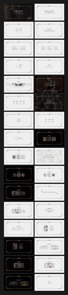 Basilisk - Deco Presentation by Tugcu Design Co. on @creativemarket