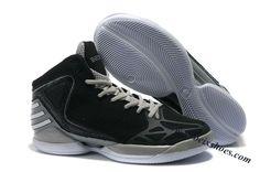 Adidas adiZero Dominate Rose 2012 Shoes Black Gray