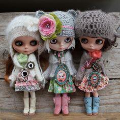 My three Blythes   Flickr - Photo Sharing!