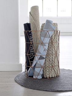 Copper baskets - Niittylä Home