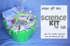 Science kit - bday gift