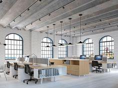 Corporate Office Design, Open Office Design, Office Interior Design, Office Interiors, Office Designs, Luxury Interior, Design Studio Office, Design Interiors, Contemporary Interior