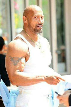 The Rock--Tank for sure!
