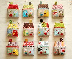 12 houses by Retro_Mama, via Flickr