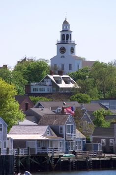 Unitarian Universalist Church Second Congregational Meeting House (Old South Church) 11 Orange Street, Nantucket