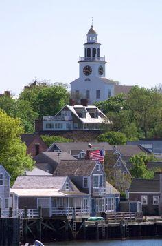 Unitarian Universalist Church Second Congregational Meeting House (Old South Church) 11 Orange Street, Nantucket