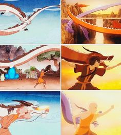 The Legend of Korra/ Avatar the Last Airbender: dragon dance