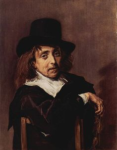 Frans Hals, Portrait of a Seated Man, c. 1645