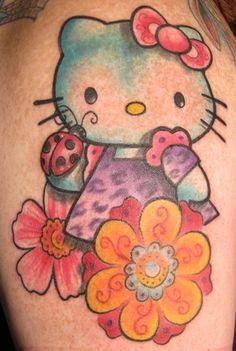bing.com/hello kitty tatoos | ... - Worlds Best Tattoos : Tattoos : Kristel Oreto : Hello Kitty Tattoo