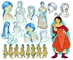 Facial features, poses and expressions disney concept art in Bear Character, Character Design Cartoon, Character Model Sheet, Character Design Animation, Character Concept, Art Disney, Disney Concept Art, Disney Kunst, Art D'ours