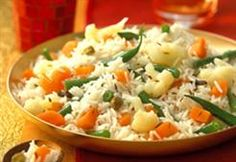 Indian Mixed Vegetable Rice (Slow Cooker) (Subzi Pulav)