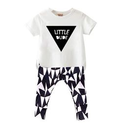 Cheap clothes sets boys, Buy Quality fashion kids clothes directly from China kids clothes Suppliers: 2017 Geometric Print Kids Clothes Sets Boys Cotton Summer Sets Toddler T-shirt+Pants Girls Fashion Clothes Children Sets Baby Boy Clothing Sets, Kids Clothing Brands, Girls Fashion Clothes, Toddler Fashion, Suit Clothing, Boy Fashion, Fashion Boots, Fashion Outfits, Newborn Outfits