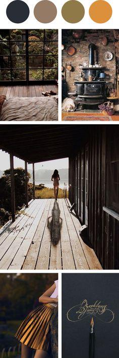Составление мудбордов – полезное упражнение для начинающих дизайнеров. Автор популярного блога Design Quixotic, арт-директор косметической марки Philosophy Тэа Кеннеди (Thea Kennedy) собирает их по цветовым палитрам.