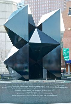 Abstract Sculpture at Armenian Heritage Park - After Reconfiguration