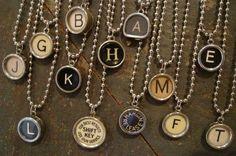 Typewriter keys <3