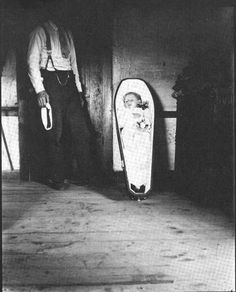 """...the Victorian fascination with death...and """"survivor guilt"""" when parents outlived children...picture from """"Wisconsin Death Trip"""" by M. Lesy"""