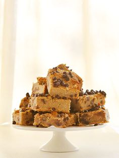 Chocolate Chip Banana Bars {Paleo} with almond butter, honey, maple syrup & coconut flour