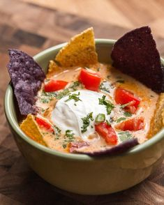 Slow Cooker Nacho Soup | Slow Cooker Nacho Soup
