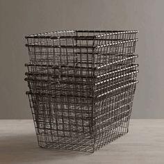 wire locker basket 8.5 w x 12d