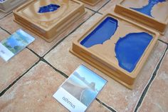 Free Montessori Land and Water Forms Printable 3-Part Cards from TheFifthLanguage.com