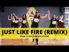 """""""Just Like Fire"""" (Remix) 