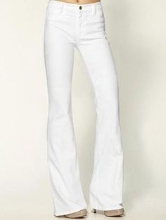 Tall/Slim  White jeans have been getting a bum rap for way too long. Not only have they been unjustly exiled to certain seasons with that ridiculous post-Labor Day rule, but a lot of people are too scared to wear them simply because they are, well…white. Which, as I hope to convince you of today, is not synonymous with unflattering.
