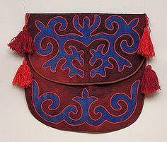 Kirghiz Shyrdak Yurt Bag