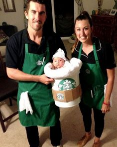 Starbucks Halloween Costume, Punny Halloween Costumes, Halloween Party, Halloween Ideas, Homemade Halloween, Spooky Halloween, Happy Halloween, Halloween Customs, Halloween Tricks