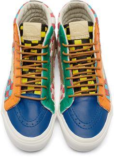 Vans - Multicolor 50th OG SK8-Hi LX Sneakers