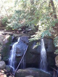 Whatcom Falls in Bellingham, Washington