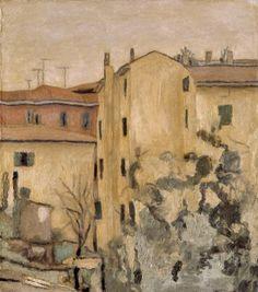 Giorgio Morandi cortile via fondazza