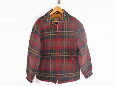 Men's Wool Jacket Men's Coat Vintage Woolrich by Vintassentials