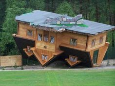 Upside down house-poland