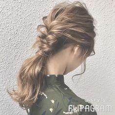 Kids Braided Hairstyles, Cute Hairstyles, Up Styles, Long Hair Styles, Long Hair Tips, Hair Arrange, Braids For Kids, Tips Belleza, Hair Hacks