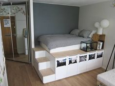 platform beds with storage ikea