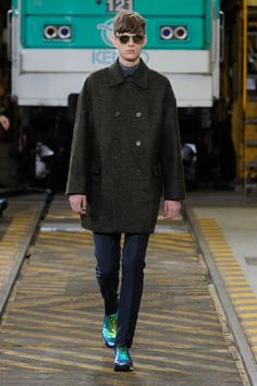 Collections - KENZO Men Fall/Winter 2012 fashion show collection