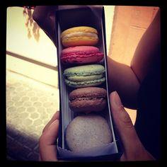 La selección de #macarons que se comió @abreaun