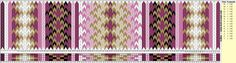 Beltestakk 017 - 118 brikker - rosa Inkle Weaving, Inkle Loom, Card Weaving, Weaving Art, Tablet Weaving Patterns, Weaving Projects, Fiber Art, Projects To Try, Blog