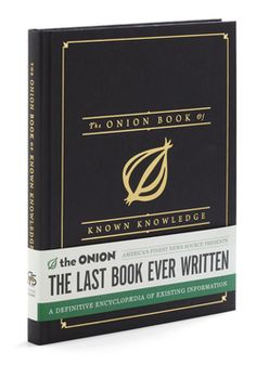 The Onion Book of Known Knowledge, #ModCloth