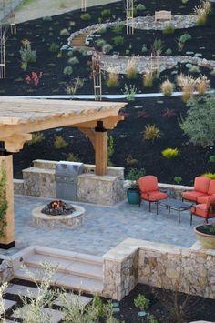 Alamo Residence Backyard Oasis